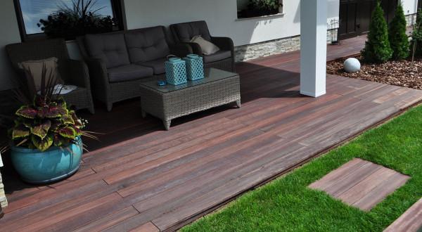 Izdelava lesenih teras